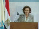 Ms. Suzanne Mubarak opening the conference